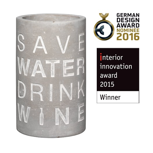 SAVE WATER wine cooler