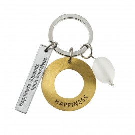 Porte-clefs HAPPINESS